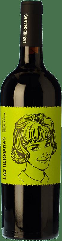 6,95 € Free Shipping | Red wine Luzón Las Hermanas Organic Joven D.O. Jumilla Castilla la Mancha Spain Monastrell Bottle 75 cl