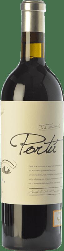 22,95 € Free Shipping | Red wine Luzón Portú Crianza D.O. Jumilla Castilla la Mancha Spain Cabernet Sauvignon, Monastrell Bottle 75 cl