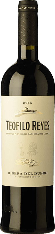 16,95 € Free Shipping | Red wine Teófilo Reyes Crianza D.O. Ribera del Duero Castilla y León Spain Tempranillo Bottle 75 cl