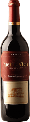 6,95 € Free Shipping | Red wine Bodegas Riojanas Puerta Vieja Crianza D.O.Ca. Rioja The Rioja Spain Tempranillo, Graciano, Mazuelo Bottle 75 cl