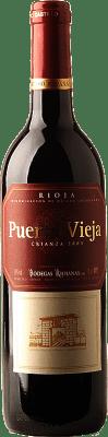 5,95 € Kostenloser Versand | Rotwein Bodegas Riojanas Puerta Vieja Crianza D.O.Ca. Rioja La Rioja Spanien Tempranillo, Graciano, Mazuelo Flasche 75 cl