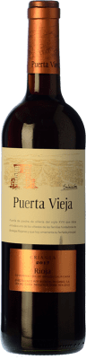 7,95 € Envío gratis | Vino tinto Bodegas Riojanas Puerta Vieja Selección Crianza D.O.Ca. Rioja La Rioja España Tempranillo Botella 75 cl