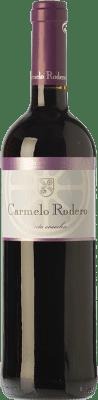 7,95 € Envío gratis | Vino tinto Carmelo Rodero Cosecha Joven D.O. Ribera del Duero Castilla y León España Tempranillo Botella 75 cl