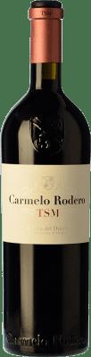 68,95 € Free Shipping | Red wine Carmelo Rodero TSM Crianza D.O. Ribera del Duero Castilla y León Spain Tempranillo, Merlot, Cabernet Sauvignon Bottle 75 cl