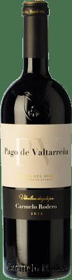 55,95 € Envío gratis | Vino tinto Carmelo Rodero Valtarreña Reserva D.O. Ribera del Duero Castilla y León España Tempranillo, Cabernet Sauvignon Botella 75 cl