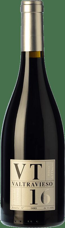 29,95 € Free Shipping | Red wine Valtravieso VT Vendimia Seleccionada Joven D.O. Ribera del Duero Castilla y León Spain Tempranillo, Merlot, Cabernet Sauvignon Bottle 75 cl