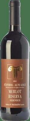 34,95 € Free Shipping | Red wine Bolzano Riserva Siebeneich Reserva D.O.C. Alto Adige Trentino-Alto Adige Italy Merlot Bottle 75 cl