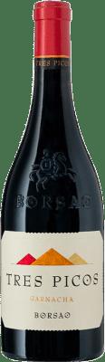 15,95 € Free Shipping | Red wine Borsao Tres Picos Joven D.O. Campo de Borja Aragon Spain Grenache Bottle 75 cl