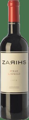 16,95 € Envío gratis | Vino tinto Borsao Zarihs Crianza D.O. Campo de Borja Aragón España Syrah Botella 75 cl
