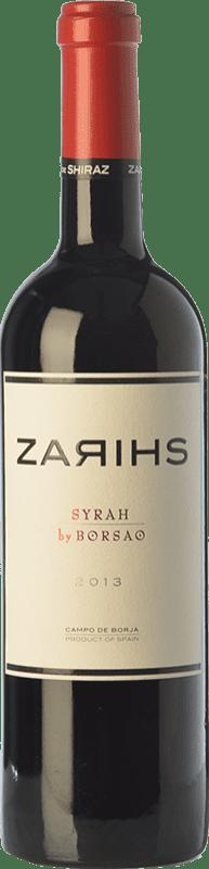 16,95 € Free Shipping | Red wine Borsao Zarihs Crianza D.O. Campo de Borja Aragon Spain Syrah Bottle 75 cl