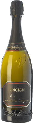13,95 € Free Shipping | White sparkling Bortolin Rù Extra Dry D.O.C.G. Prosecco di Conegliano-Valdobbiadene Treviso Italy Glera Bottle 75 cl | Thousands of wine lovers trust us to get the best price guarantee, free shipping always and hassle-free shopping and returns.