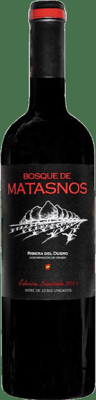 26,95 € Envoi gratuit | Vin rouge Bosque de Matasnos Edición Limitada Reserva D.O. Ribera del Duero Castille et Leon Espagne Tempranillo, Merlot Bouteille 75 cl