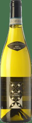 27,95 € Kostenloser Versand | Weißwein Braida Asso di Fiori D.O.C. Langhe Piemont Italien Chardonnay Flasche 75 cl