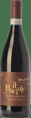 17,95 € Free Shipping | Red wine Braida Bacialè D.O.C. Monferrato Piemonte Italy Merlot, Cabernet Sauvignon, Pinot Black, Barbera Bottle 75 cl