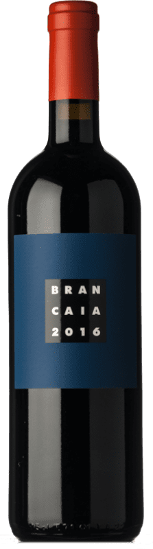 65,95 € Envío gratis | Vino tinto Brancaia Il Blu I.G.T. Toscana Toscana Italia Merlot, Cabernet Sauvignon, Sangiovese Botella 75 cl