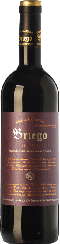 42,95 € Envío gratis | Vino tinto Briego Infiel Crianza D.O. Ribera del Duero Castilla y León España Tempranillo Botella 75 cl