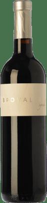 9,95 € Free Shipping | Red wine Bro Valero Crianza D.O. La Mancha Castilla la Mancha Spain Syrah Bottle 75 cl