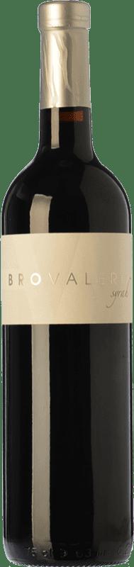 8,95 € Free Shipping | Red wine Bro Valero Crianza D.O. La Mancha Castilla la Mancha Spain Syrah Bottle 75 cl