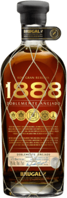 39,95 € Free Shipping | Rum Brugal 1888 Dominican Republic Bottle 70 cl
