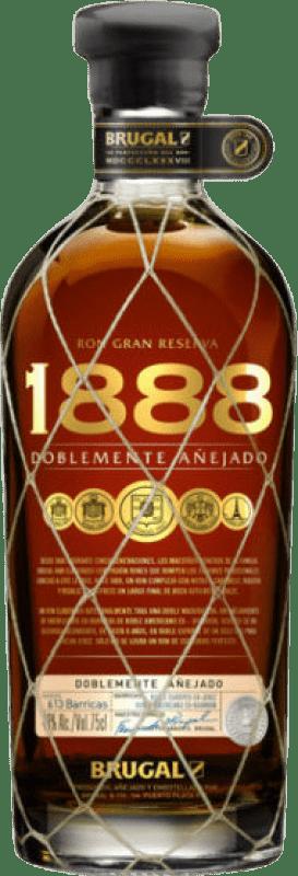 39,95 € Envoi gratuit | Rhum Brugal 1888 République Dominicaine Bouteille 70 cl