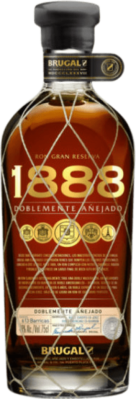 32,95 € Free Shipping | Rum Brugal 1888 Dominican Republic Bottle 70 cl