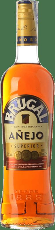 13,95 € Free Shipping | Rum Brugal Añejo Dominican Republic Bottle 70 cl