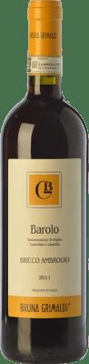 36,95 € Envío gratis | Vino tinto Bruna Grimaldi Bricco Ambrogio D.O.C.G. Barolo Piemonte Italia Nebbiolo Botella 75 cl