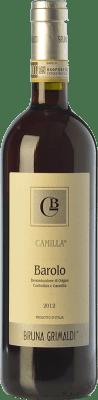 36,95 € Free Shipping | Red wine Bruna Grimaldi Camilla D.O.C.G. Barolo Piemonte Italy Nebbiolo Bottle 75 cl
