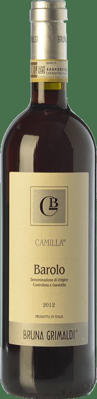 25,95 € Envío gratis | Vino tinto Bruna Grimaldi Camilla D.O.C.G. Barolo Piemonte Italia Nebbiolo Botella 75 cl