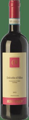 8,95 € Envío gratis | Vino tinto Bruna Grimaldi D.O.C.G. Dolcetto d'Alba Piemonte Italia Dolcetto Botella 75 cl