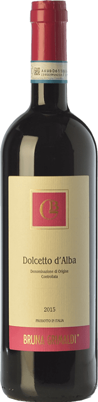 8,95 € Free Shipping | Red wine Bruna Grimaldi D.O.C.G. Dolcetto d'Alba Piemonte Italy Dolcetto Bottle 75 cl