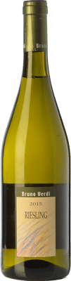 9,95 € Free Shipping | White sparkling Bruno Verdi Frizzante D.O.C. Oltrepò Pavese Lombardia Italy Riesling Italico Bottle 75 cl