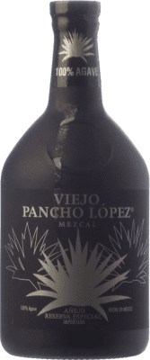 29,95 € Free Shipping | Mezcal Bugarin Viejo Pancho López Añejo Mexico Bottle 70 cl