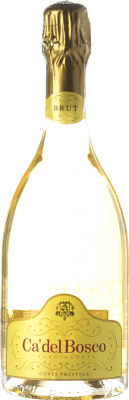33,95 € Free Shipping | White sparkling Ca' del Bosco Cuvée Prestige D.O.C.G. Franciacorta Lombardia Italy Pinot Black, Chardonnay, Pinot White Bottle 75 cl. | Thousands of wine lovers trust us to get the best price guarantee, free shipping always and hassle-free shopping and returns.