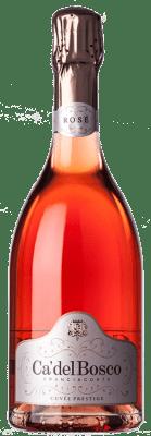 53,95 € Free Shipping   Rosé sparkling Ca' del Bosco Cuvée Prestige Rosé D.O.C.G. Franciacorta Lombardia Italy Pinot Black, Chardonnay Bottle 75 cl