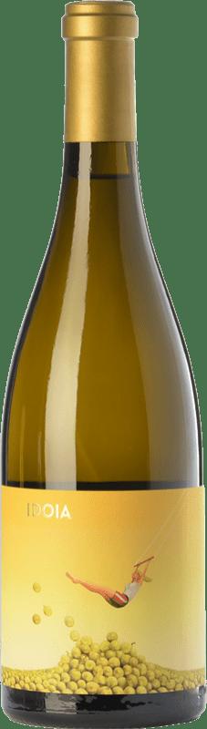 11,95 € Envío gratis | Vino blanco Ca N'Estruc Idoia Blanc Crianza D.O. Catalunya Cataluña España Garnacha Blanca, Macabeo, Xarel·lo, Chardonnay Botella 75 cl
