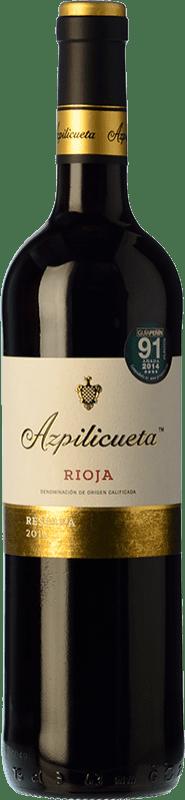 29,95 € Kostenloser Versand | Rotwein Campo Viejo Azpilicueta Reserva D.O.Ca. Rioja La Rioja Spanien Tempranillo, Graciano, Mazuelo Magnum-Flasche 1,5 L
