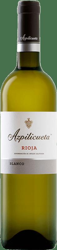 9,95 € Free Shipping | White wine Campo Viejo Azpilicueta Crianza D.O.Ca. Rioja The Rioja Spain Viura Bottle 75 cl
