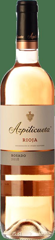 8,95 € Free Shipping | Rosé wine Campo Viejo Azpilicueta D.O.Ca. Rioja The Rioja Spain Tempranillo, Viura Bottle 75 cl