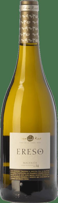 11,95 € Free Shipping | White wine Can Rich Ereso Crianza I.G.P. Vi de la Terra de Ibiza Balearic Islands Spain Chardonnay Bottle 75 cl