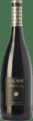 18,95 € Free Shipping | Red wine Can Rich Lausos Crianza I.G.P. Vi de la Terra de Ibiza Balearic Islands Spain Cabernet Sauvignon Bottle 75 cl