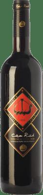 11,95 € Free Shipping | Red wine Can Rich Roble I.G.P. Vi de la Terra de Ibiza Balearic Islands Spain Tempranillo, Merlot Bottle 75 cl