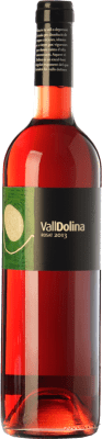 8,95 € Free Shipping | Rosé wine Can Tutusaus Vall Dolina Rosat D.O. Penedès Catalonia Spain Merlot Bottle 75 cl
