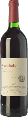 31,95 € Free Shipping | Red wine Candialle Mimas I.G.T. Toscana Tuscany Italy Sangiovese Bottle 75 cl