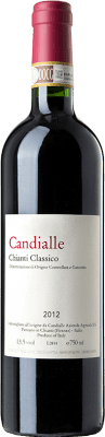 29,95 € Free Shipping | Red wine Candialle D.O.C.G. Chianti Classico Tuscany Italy Sangiovese Bottle 75 cl