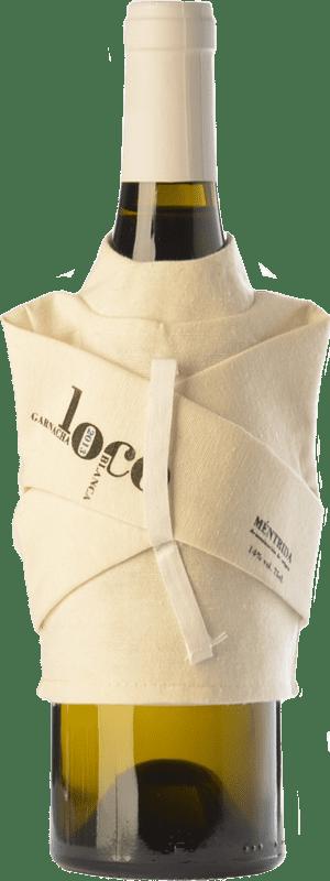 27,95 € Envío gratis | Vino blanco Canopy Loco Crianza D.O. Méntrida Castilla la Mancha España Garnacha Blanca Botella 75 cl