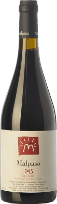 16,95 € Kostenloser Versand | Rotwein Canopy Malpaso Joven D.O. Méntrida Kastilien-La Mancha Spanien Syrah Flasche 75 cl