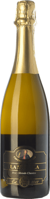19,95 € Free Shipping | White sparkling Cantine del Notaio La Stipula Bianco Brut I.G.T. Vino Spumante di Qualità Italy Aglianico Bottle 75 cl. | Thousands of wine lovers trust us to get the best price guarantee, free shipping always and hassle-free shopping and returns.