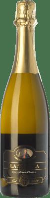25,95 € Free Shipping | White sparkling Cantine del Notaio La Stipula Bianco Brut I.G.T. Vino Spumante di Qualità Italy Aglianico Bottle 75 cl