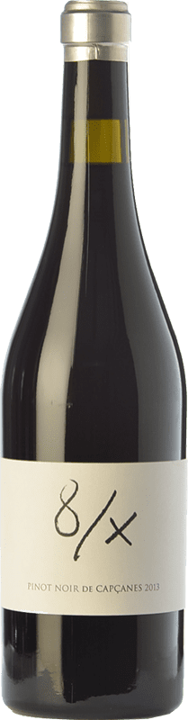 21,95 € Free Shipping | Red wine Capçanes 8/X Crianza D.O. Montsant Catalonia Spain Pinot Black Bottle 75 cl